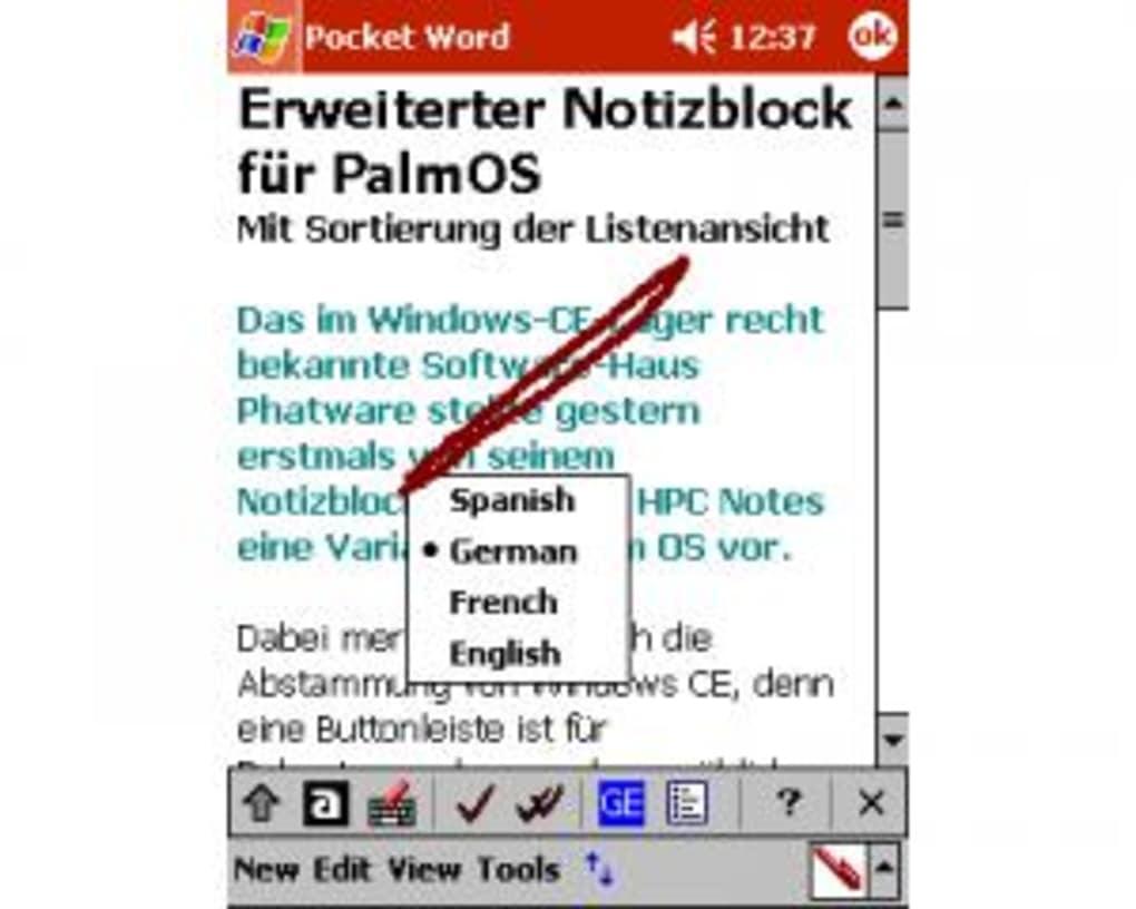 texterkennungsprogramm deutsch