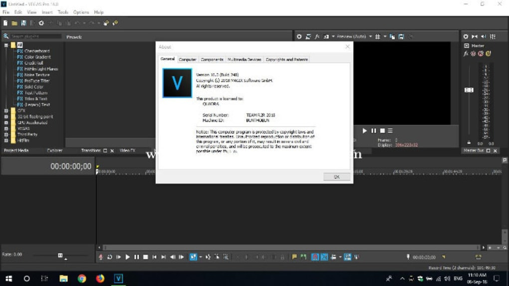 sony vegas windows 7 32 bit