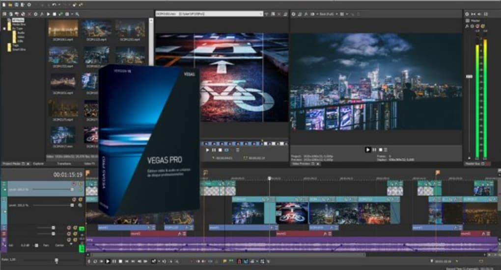 editing software sony vegas 13 pro