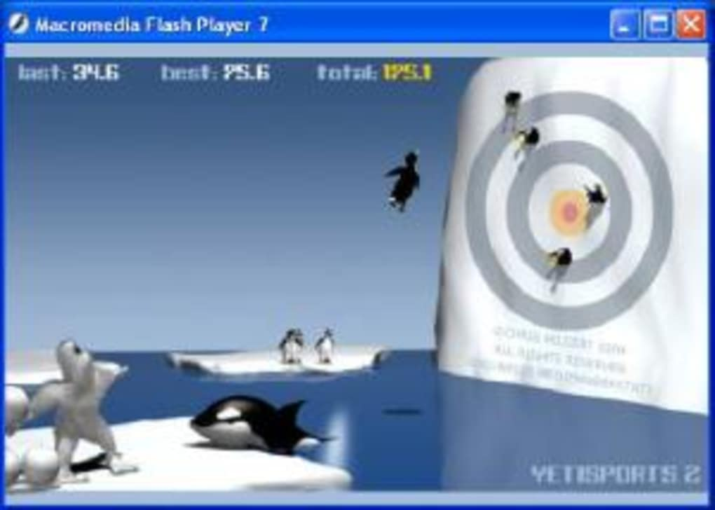 Yetisports: penguin run iphone game free. Download ipa for ipad.