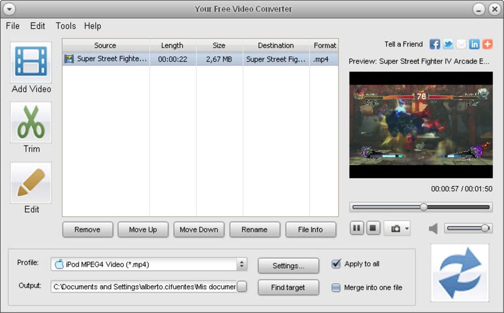 CONVERTER FREE VIDEO GRATUIT 3.1.0.0 KOYOTE TÉLÉCHARGER