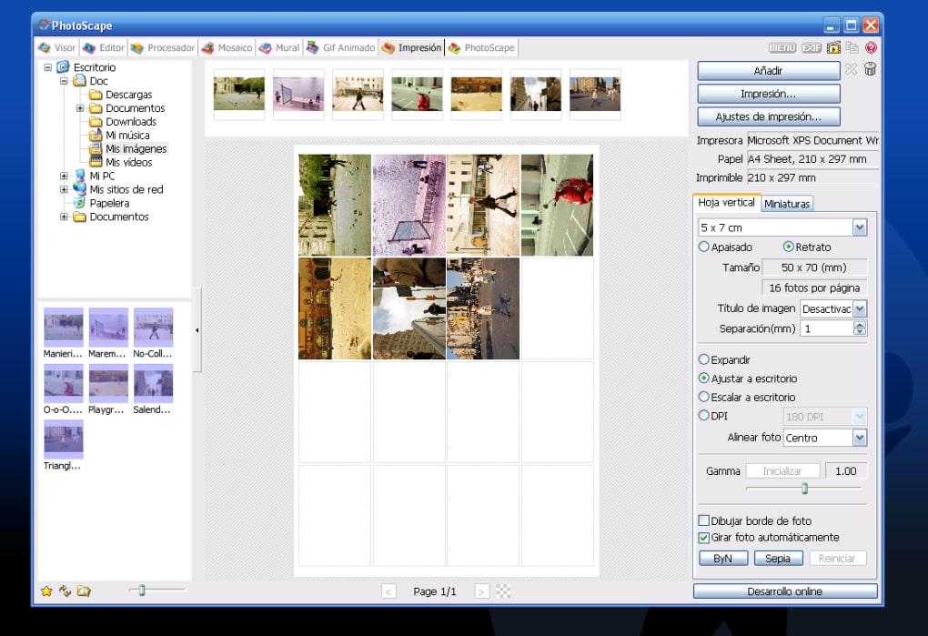 PhotoScape - Descargar