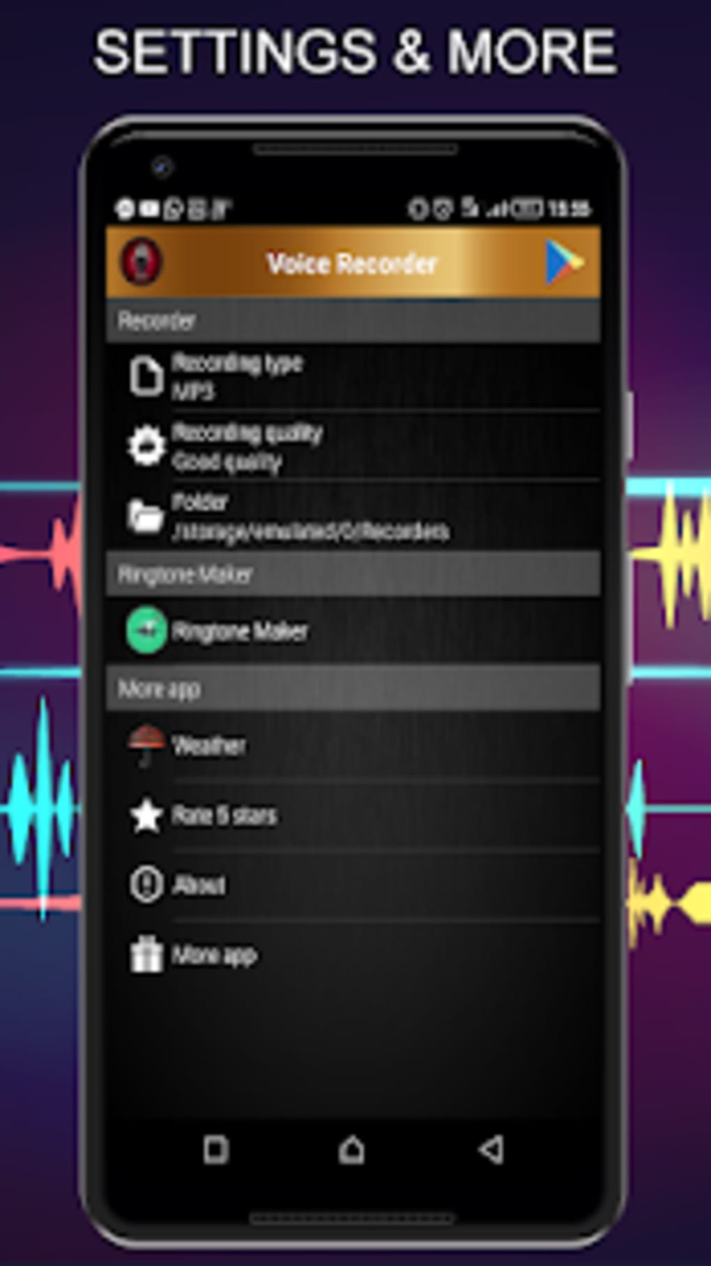 free android ringtone recorder