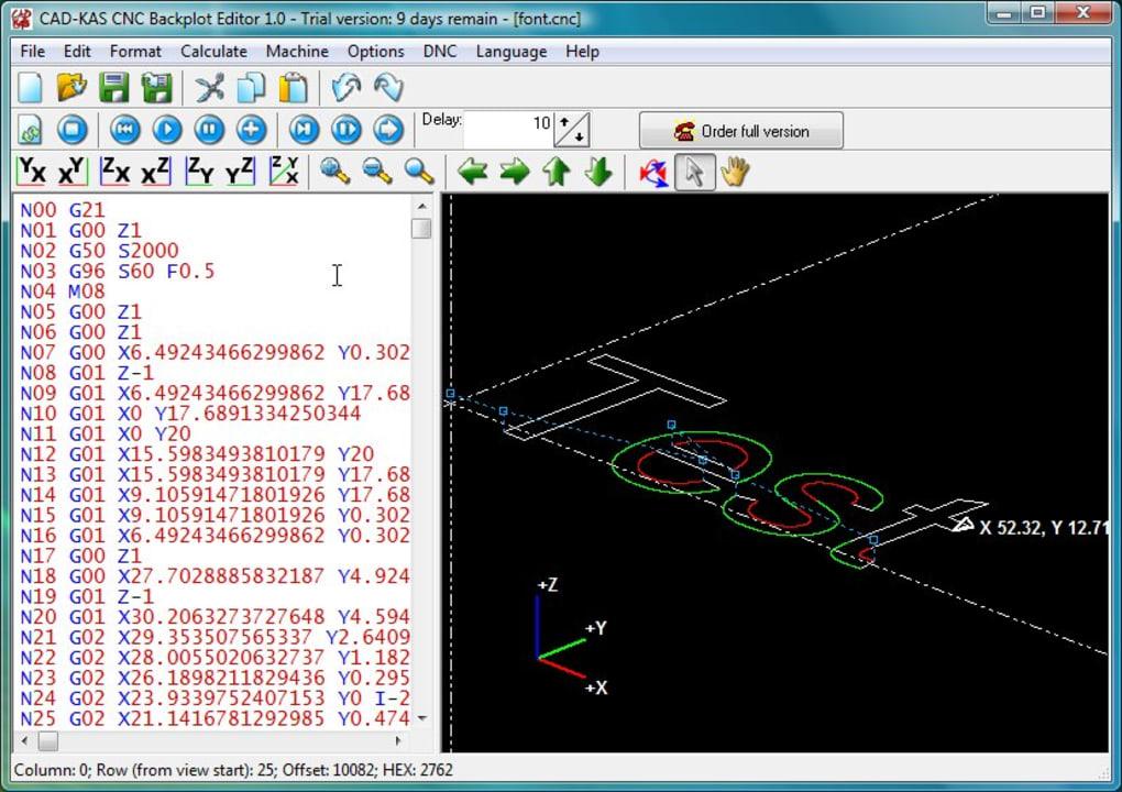 CNC Backplot Editor - Download
