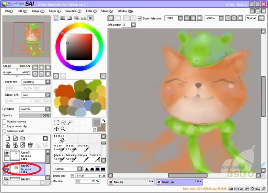 Paint Tool SAI Crack v2 Full Version Free Download [ ]