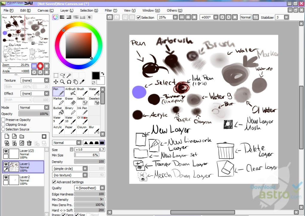 paint tool sai download full version free 2016