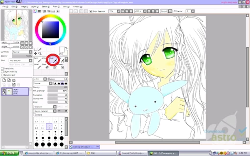 paint tool sai free download full version