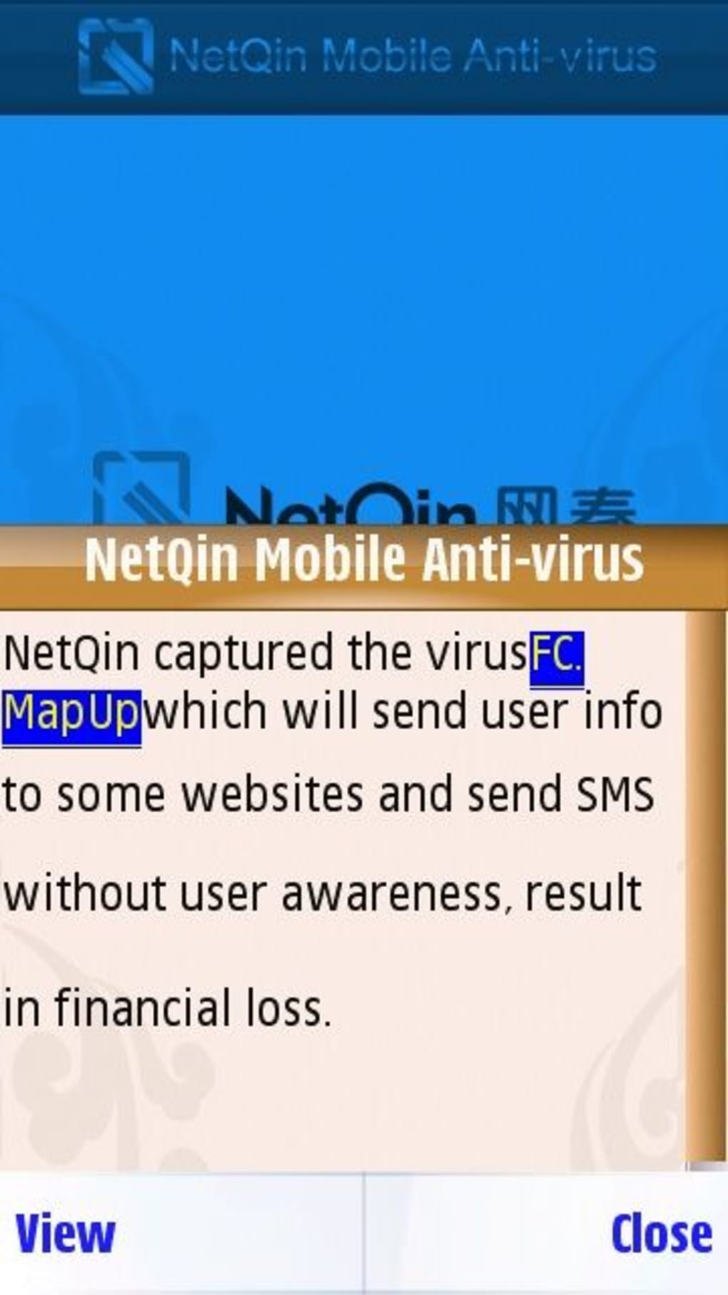 Netqin antivirus for symbian download.