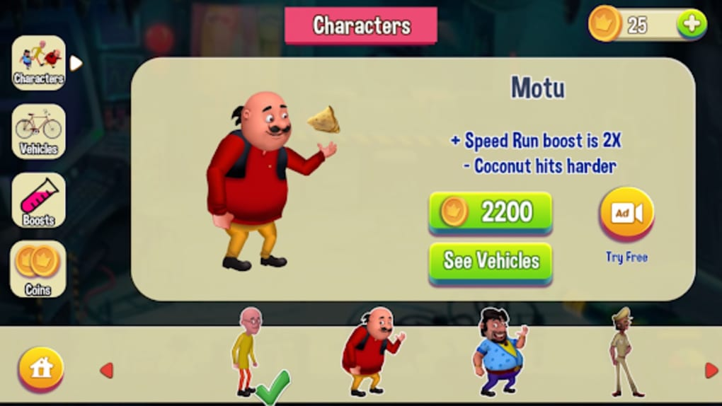 Motu Patlu Game for Android - Download