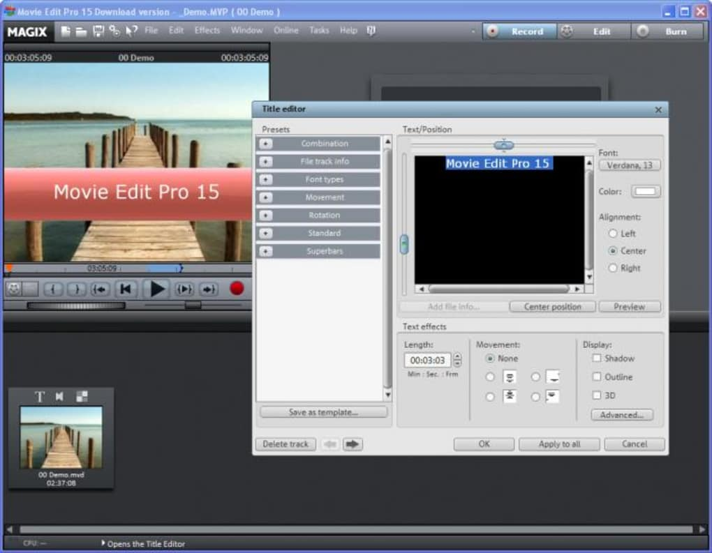 magix movie edit pro crack kickass