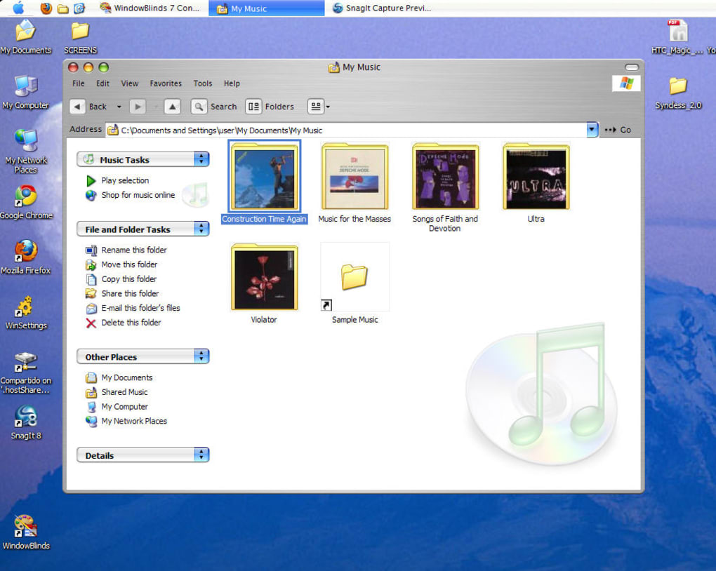 Mac OS X Theme - Download