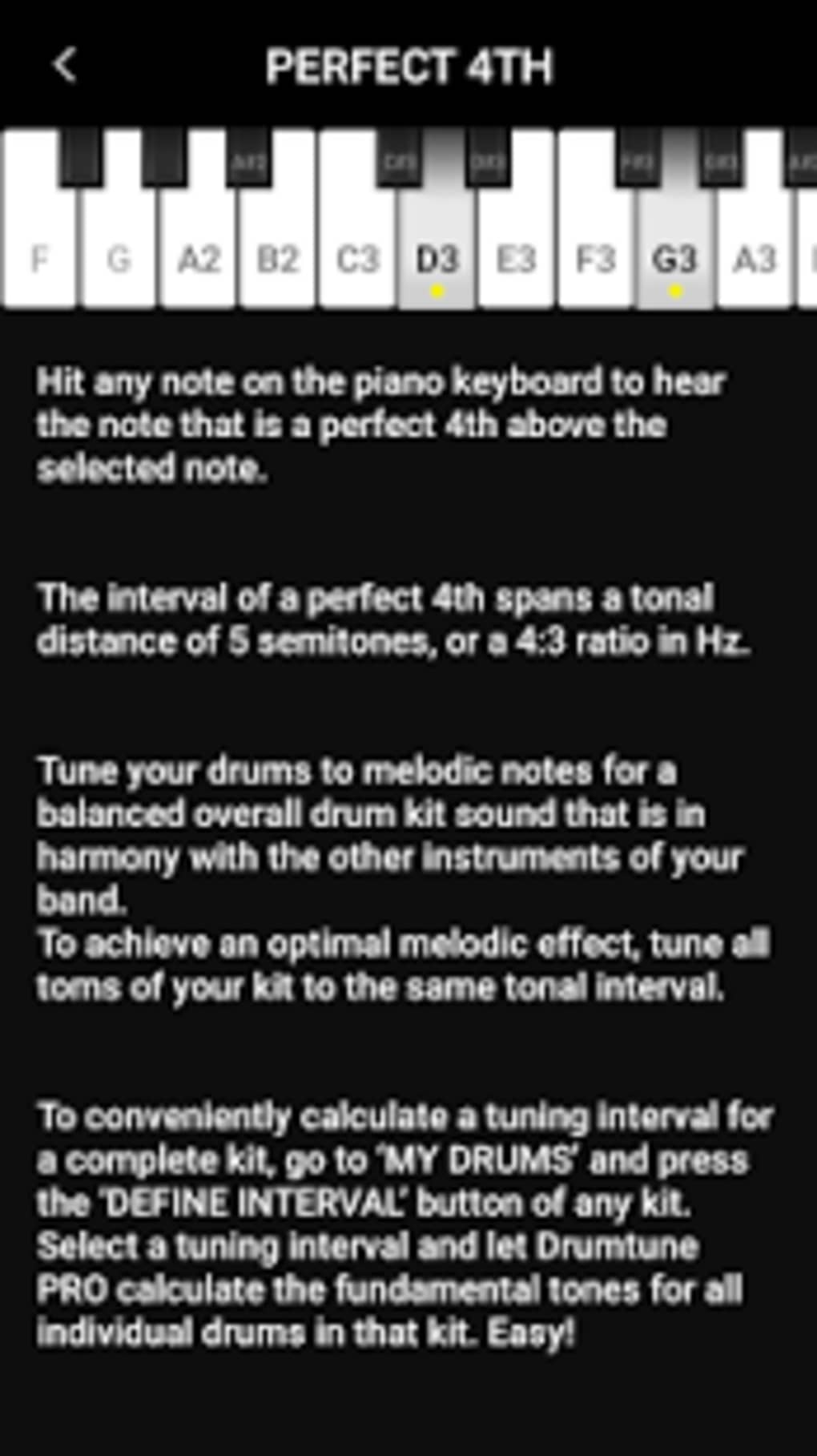 Drumtune PRO | Drum Tuner > Drum tuning made easy