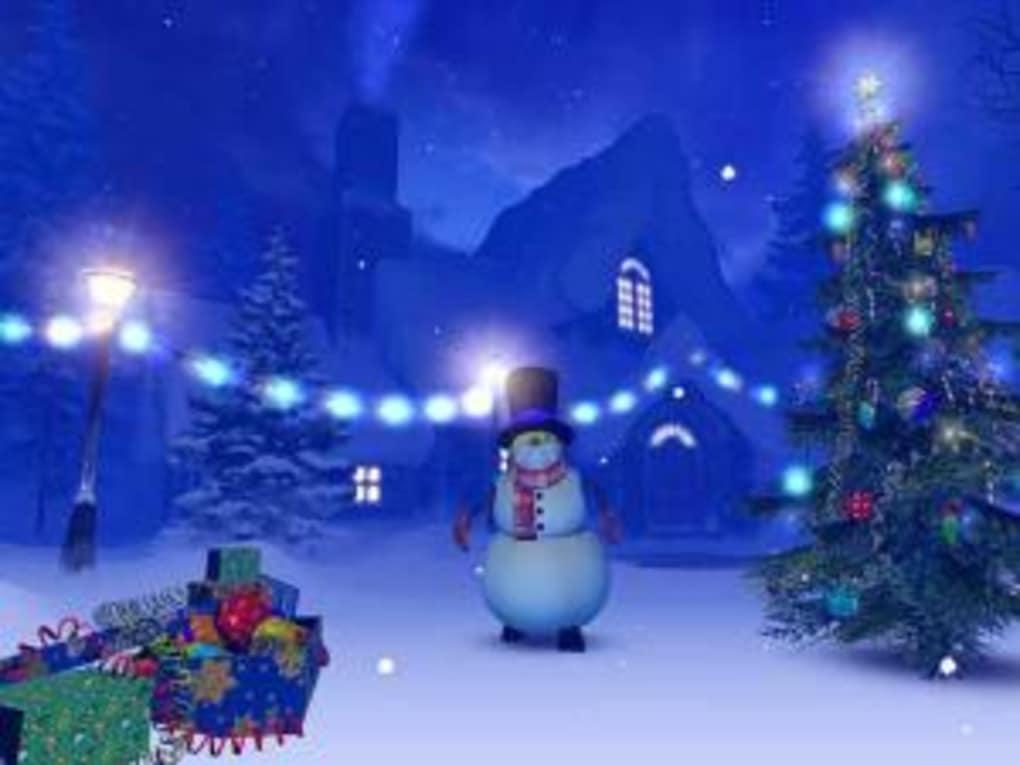 Christmas 3D Screensaver - Download