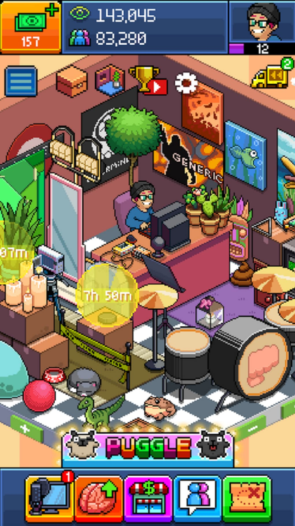 PewDiePie's Tuber Simulator for Android - Download