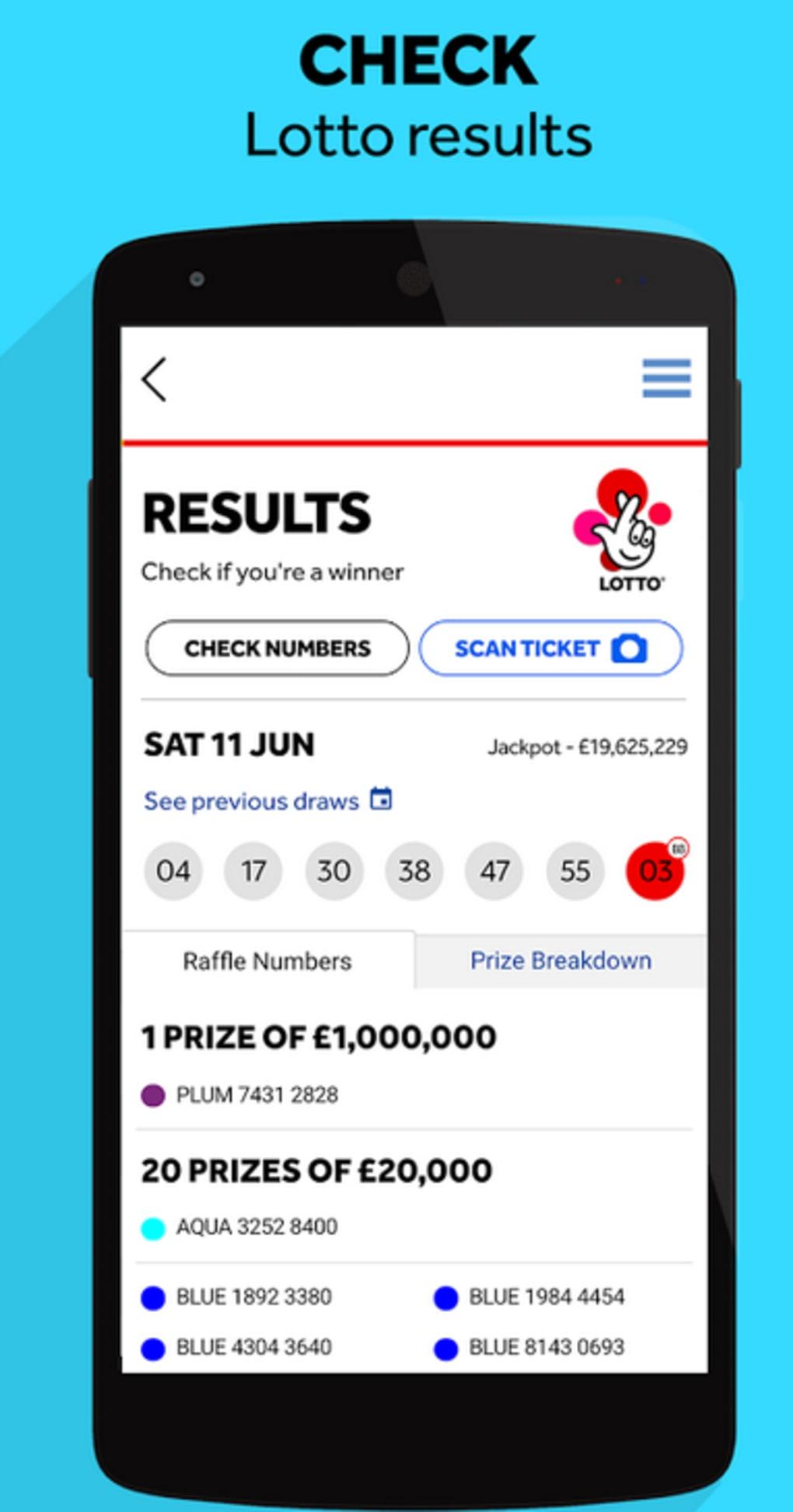 lotto hotpicks app