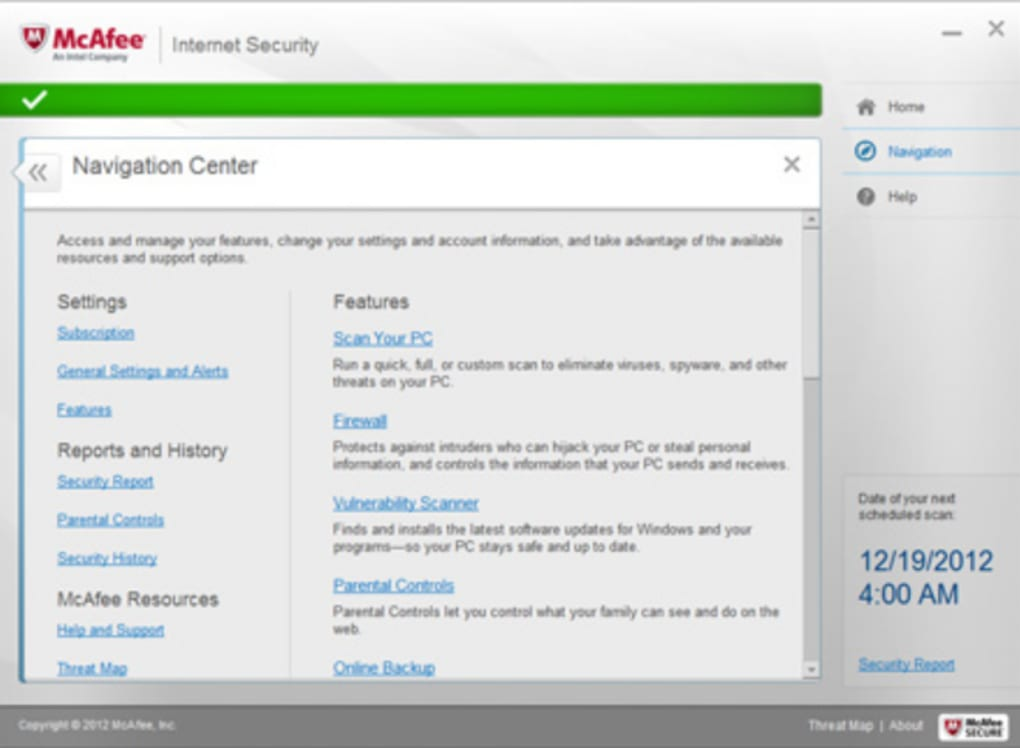 mcafee internet security 2018 download free