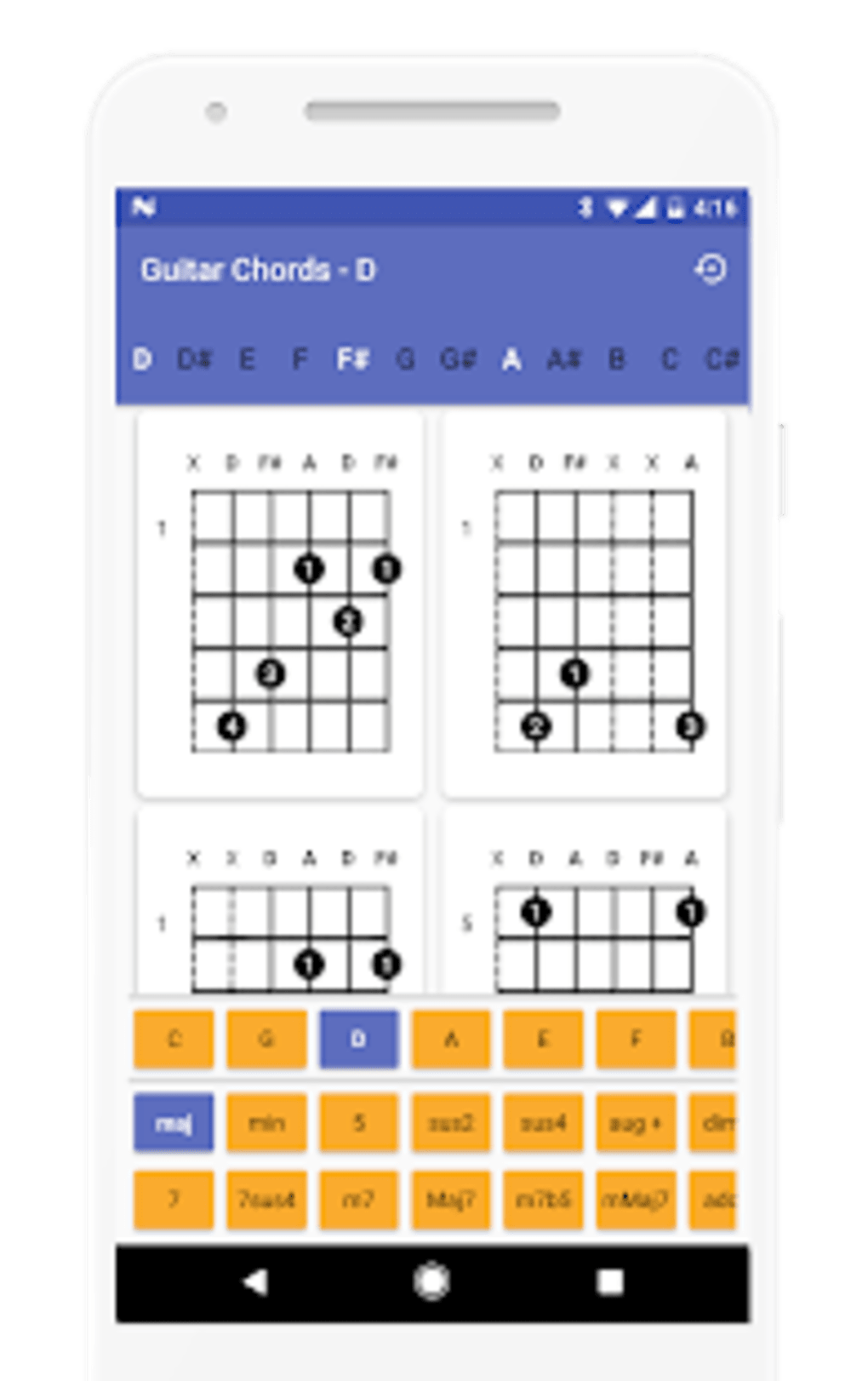 Download Guitar Chords Finder No Ads Latest Version Tb T Software