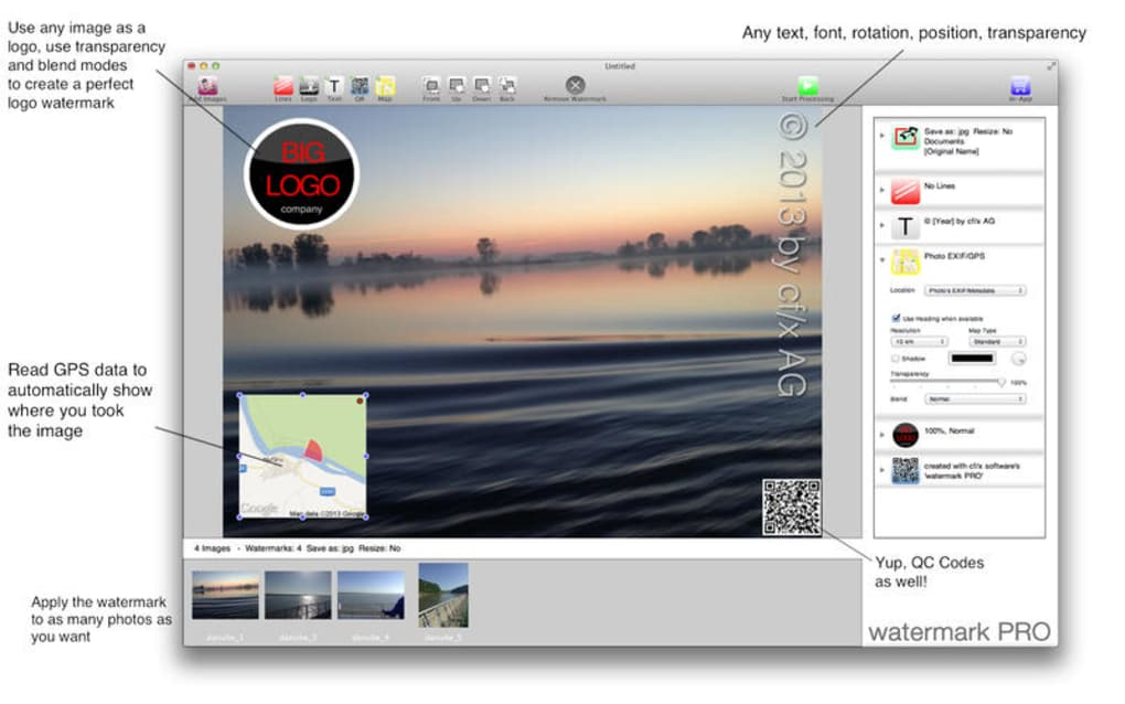 watermark PRO for Mac - Download