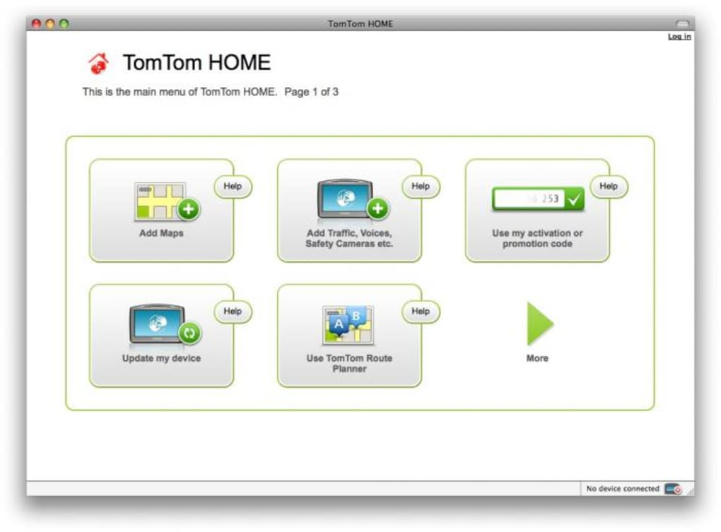 TomTom Home for Mac - Download
