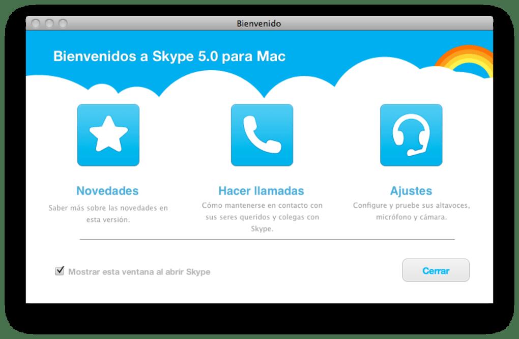 skype gratuit pour mac 10.5.8