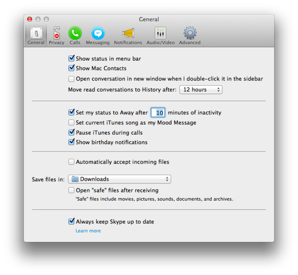 Skype for Mac - Download