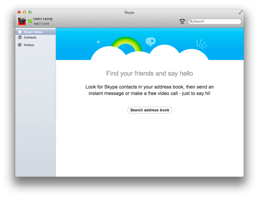 skype mac 10.9.5