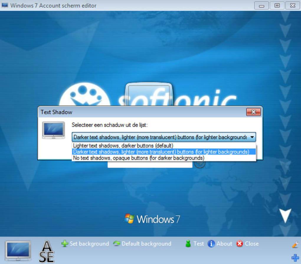 thoosje windows 7 logon editor
