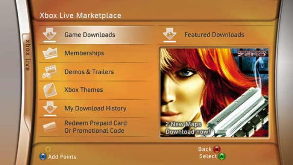 Xbox 360 - Download
