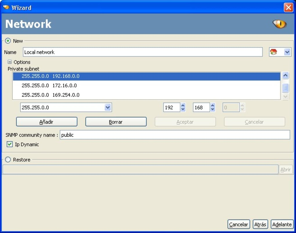 autoscan network windows