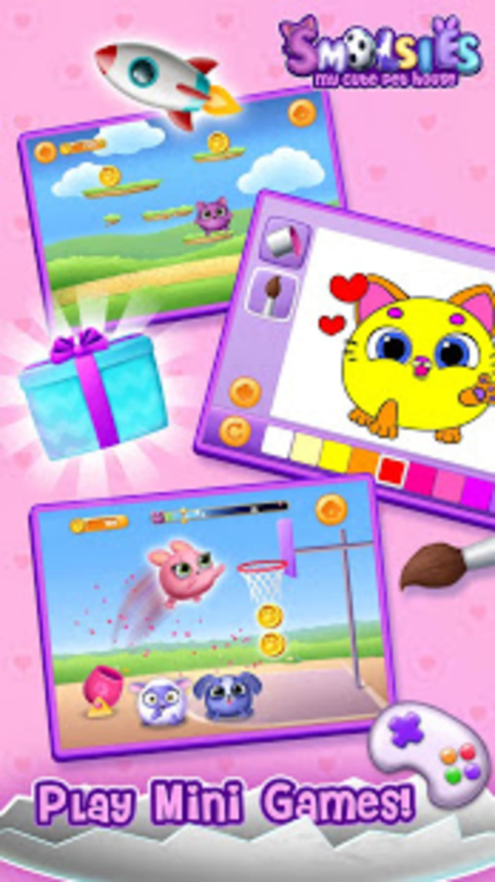 Smolsies - My Cute Pet House for Android - Download