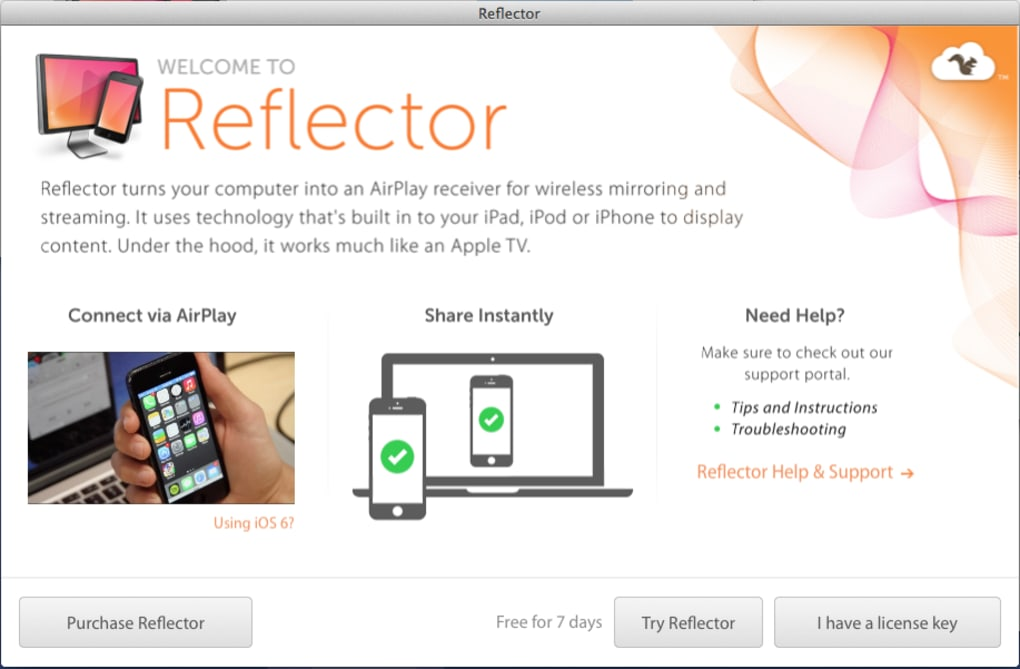 Reflector for Mac - Download