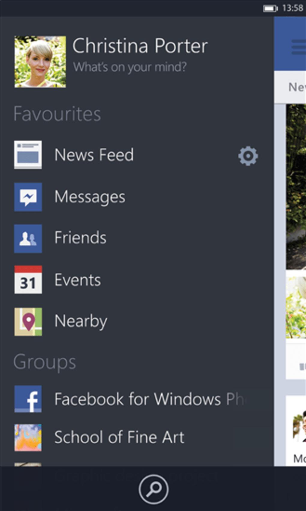 facebook beta para windows phone descargar