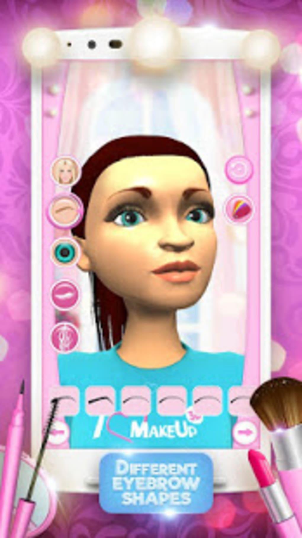 ... 3D Makeup Games For Girls