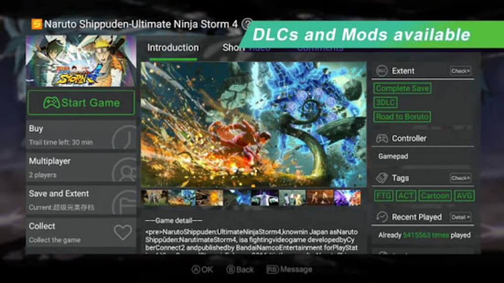 Gloud Games - Best Emulator for XBOX PC PS cho Android - Tải về