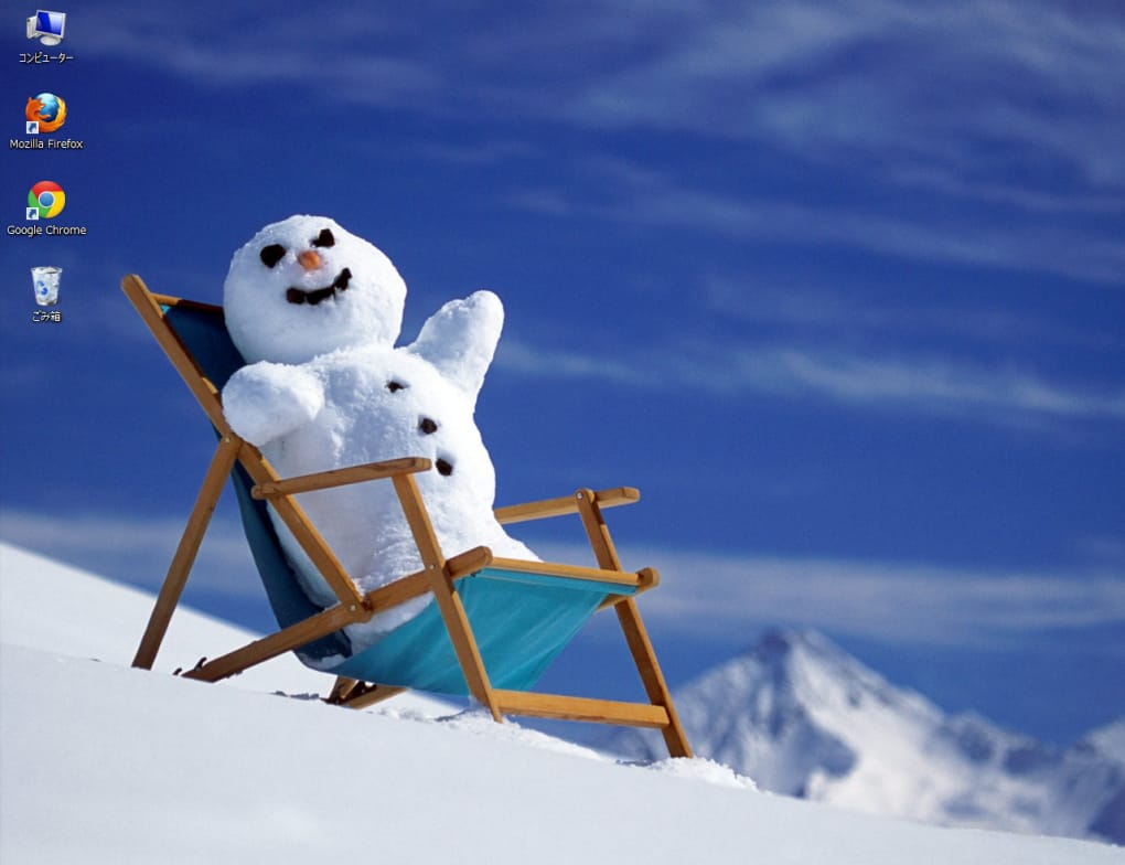 雪だるまのテーマ ダウンロード