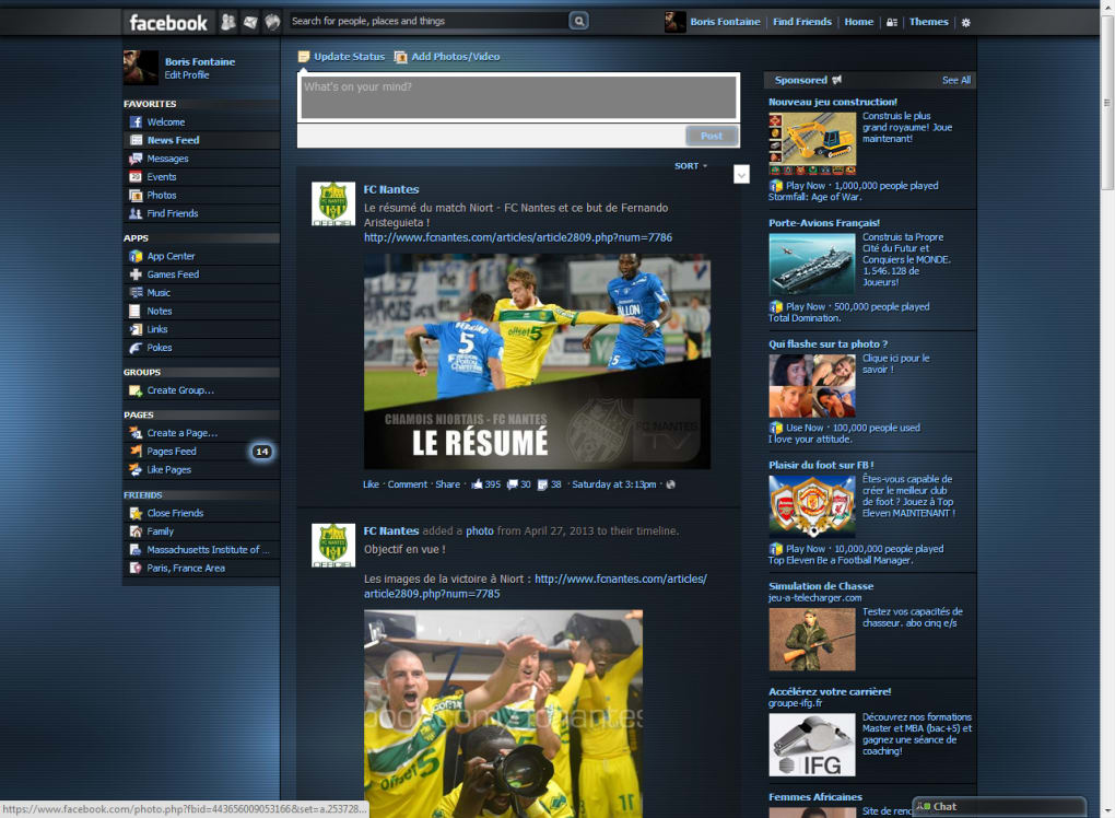 Facebook Themes - Download