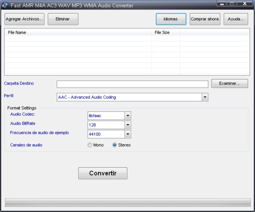 Fast Amr M4a Ac3 Wav Mp3 Wma Audio Converter Download