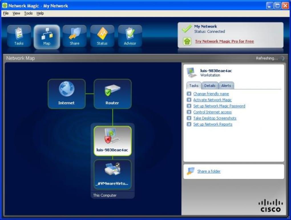 cisco network magic mac os x