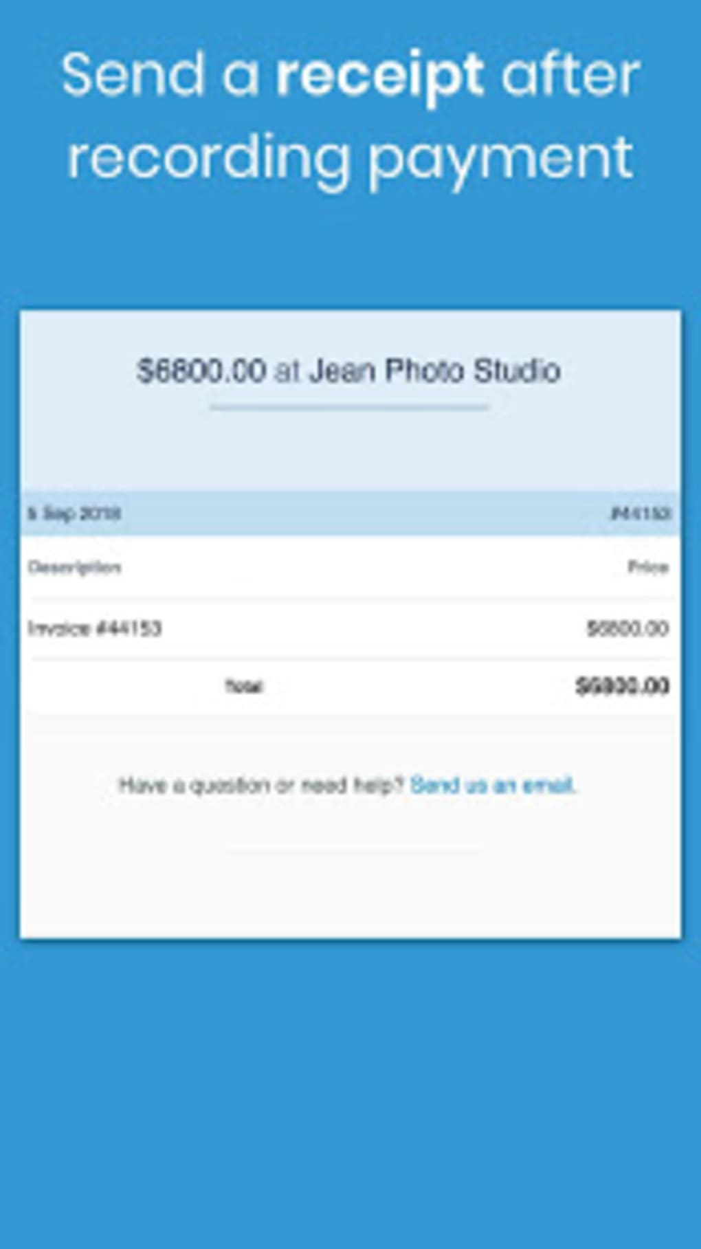 Free Invoice Maker Billing Estimate generator for Android