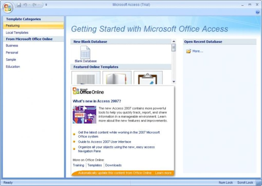 microsoft office 2003 free download access