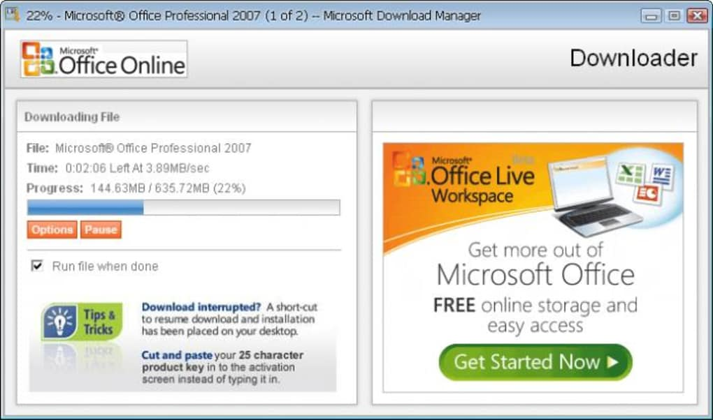 microsoft office enterprise 2007 product key activation
