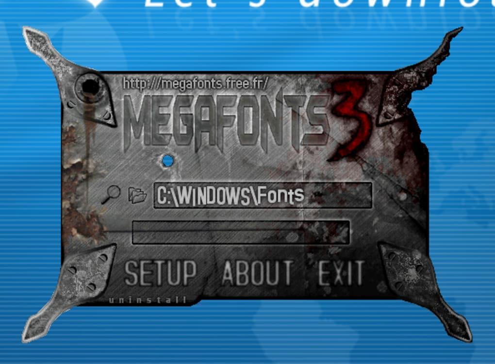 megafonts 3.6