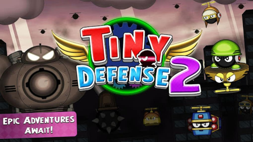 Tiny Defense 2 Mini Robot Wars for Android - Download