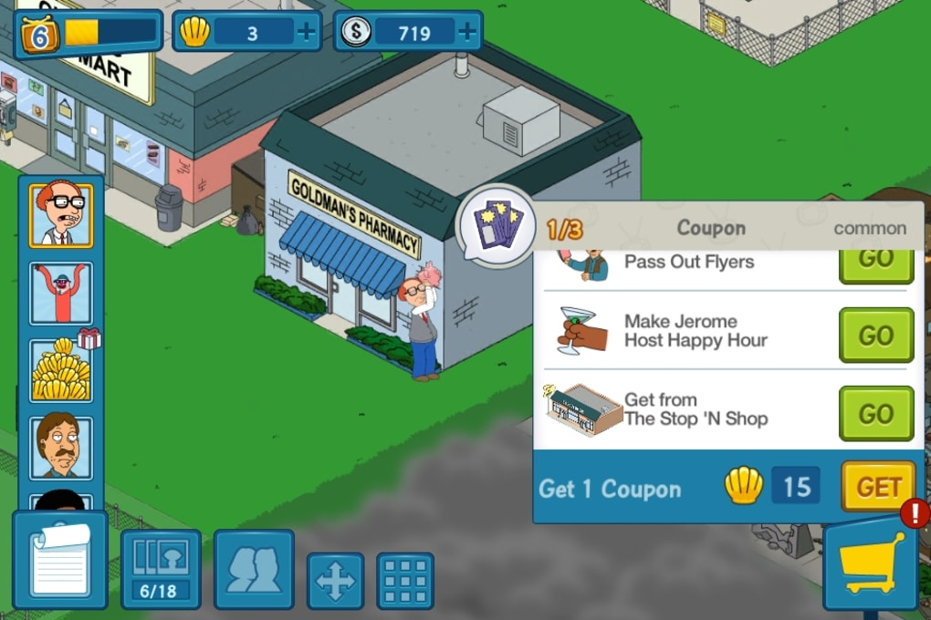 Family Guy: The Quest for Stuff for iPhone - Download