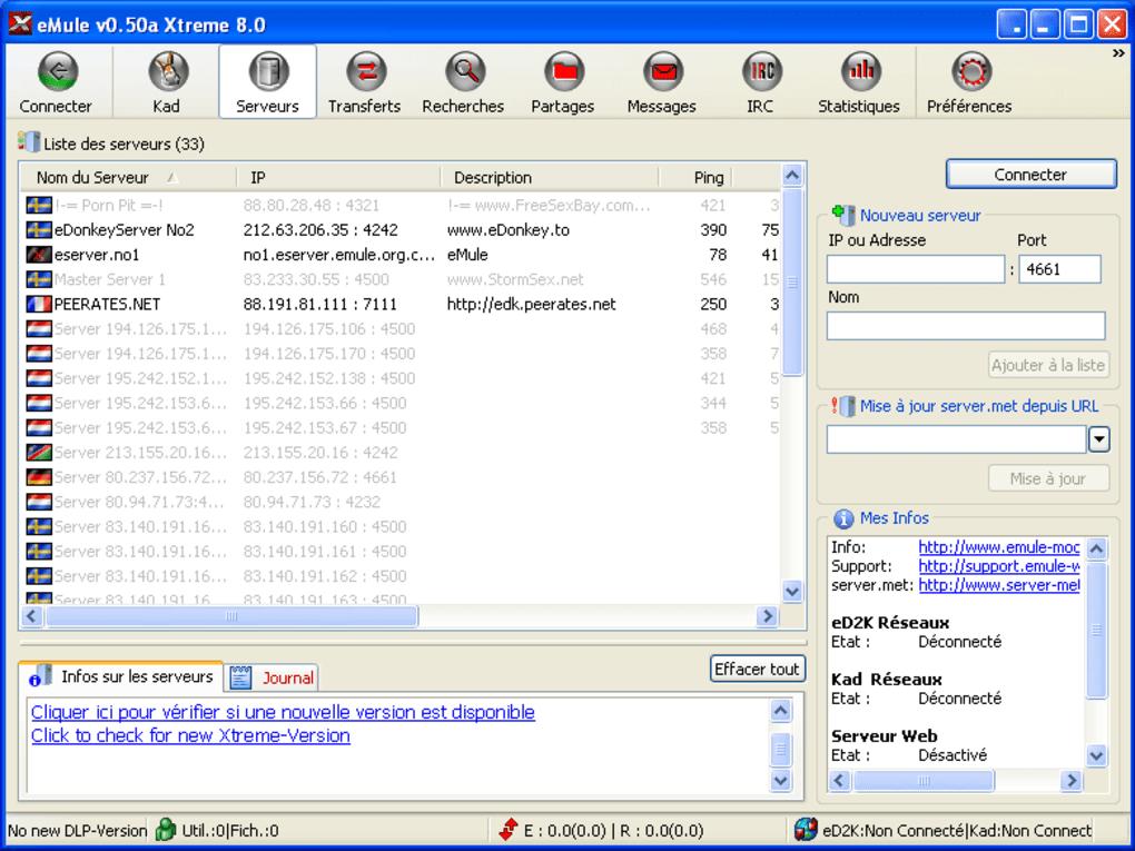 emule gratuit pour windows 8.1