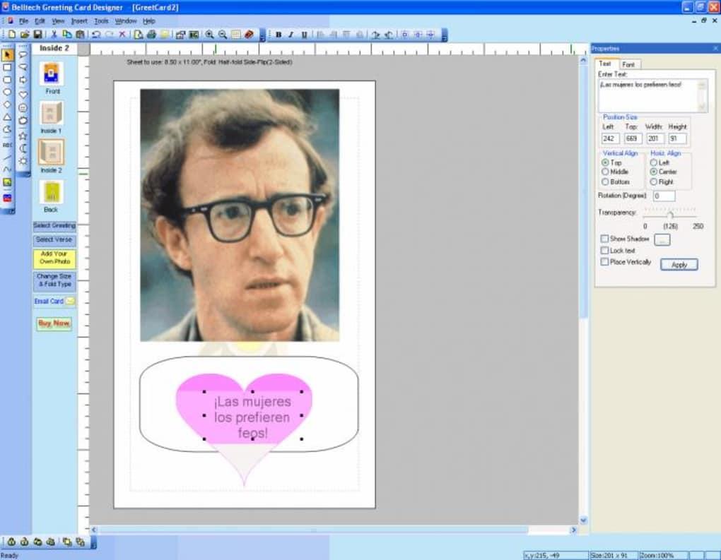 Belltech Greeting Card Designer Download