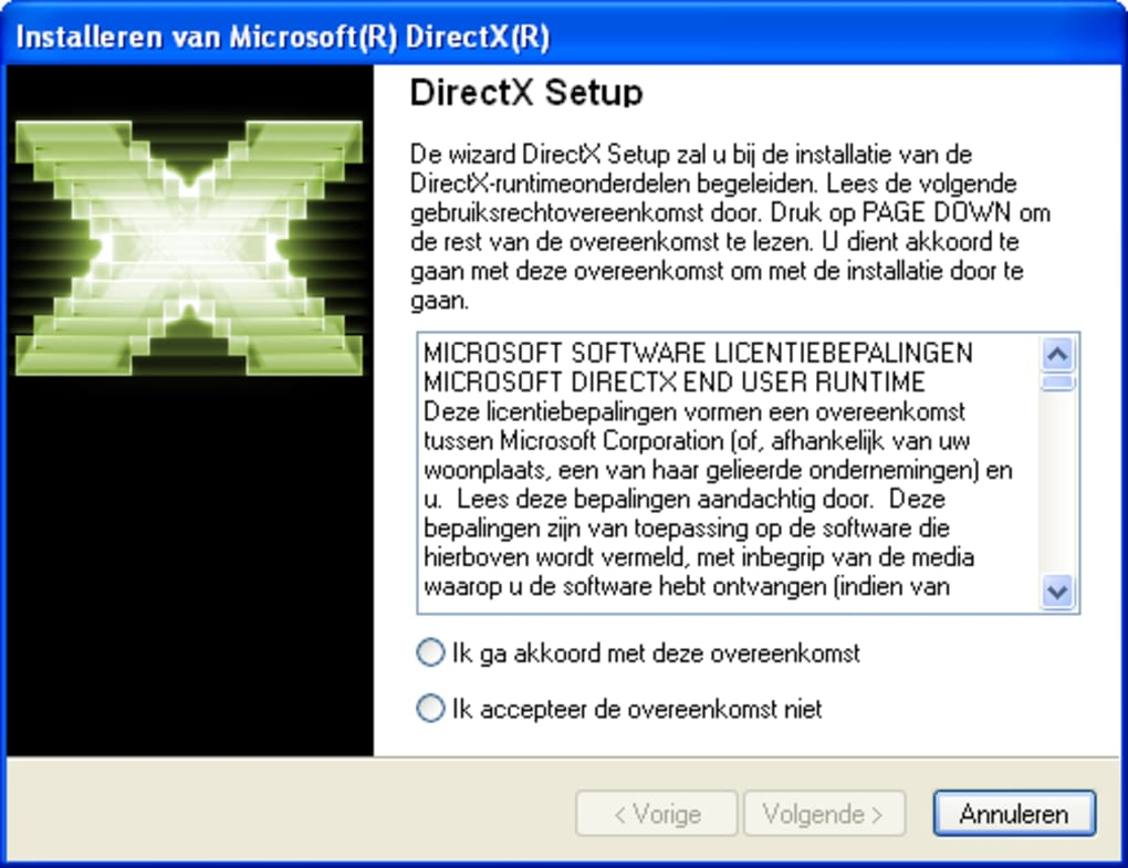 download directx 11 for xp