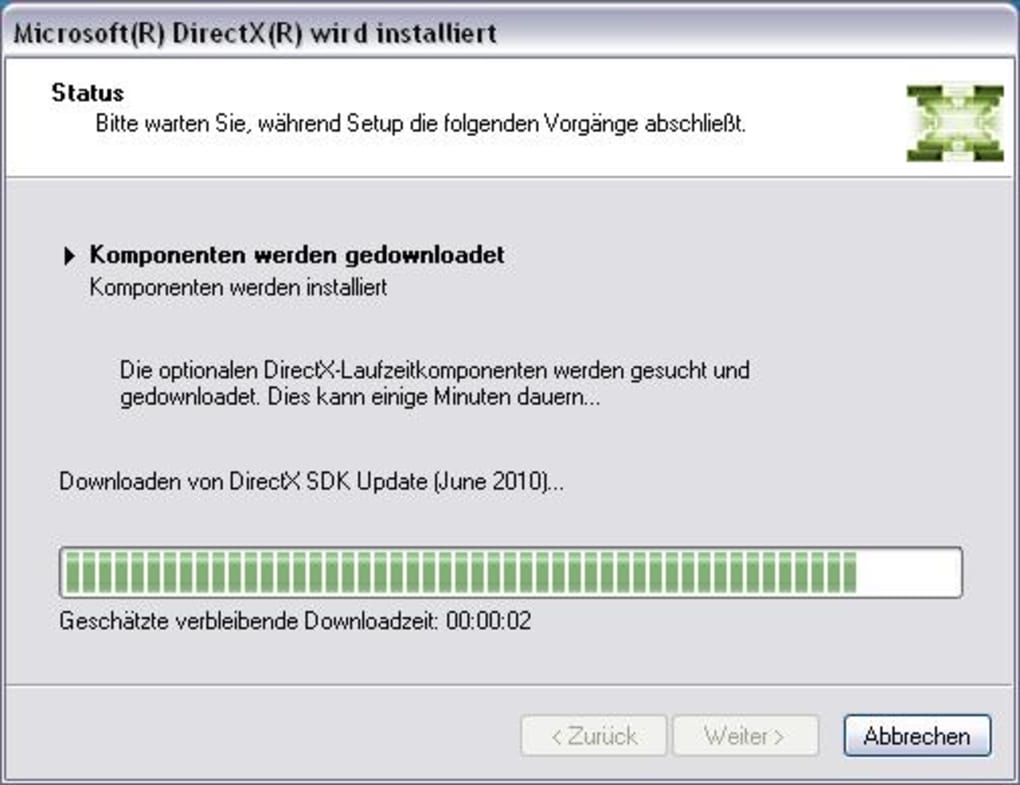download directx(r) for call of duty 2