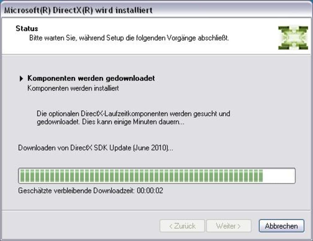 neueste version directx kostenlos runterladen