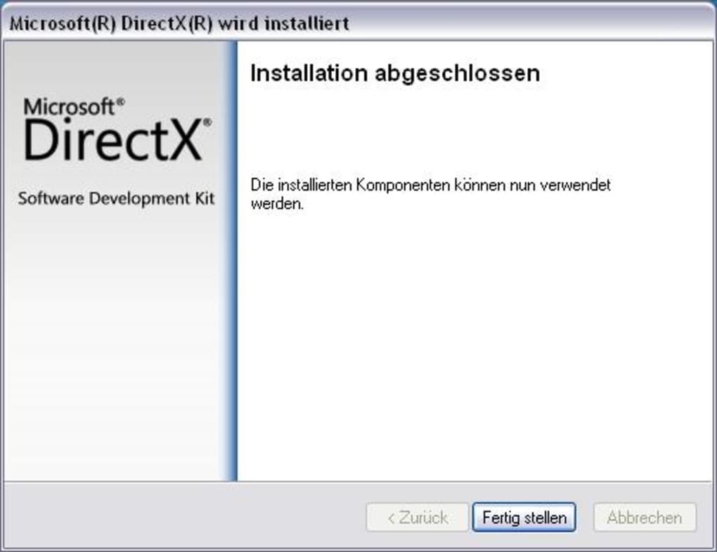 Directx Installieren